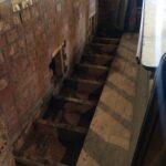 Rotten floorboards