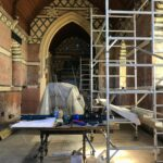 Building work in the church